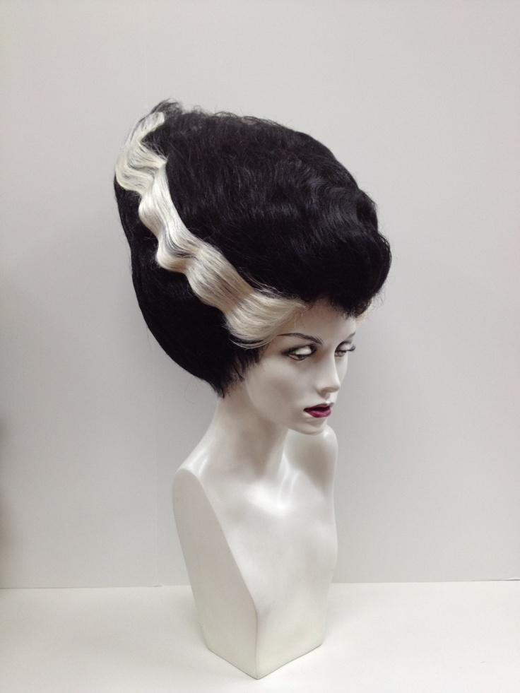 Bride Of Frankenstein Wigs 14