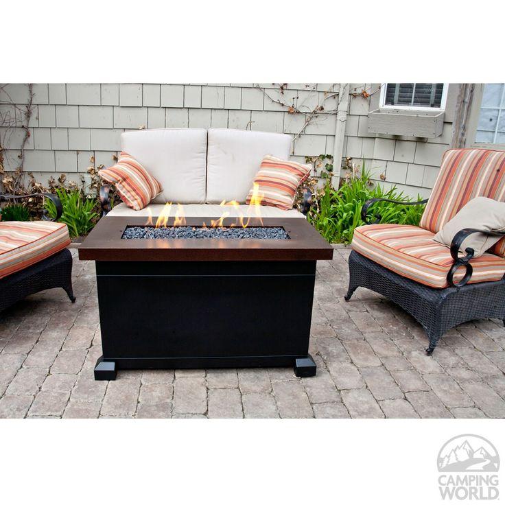 Monterey Propane Fire Pit Patio Table