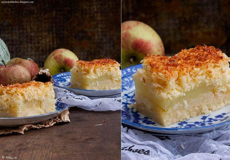 coconut apple cake