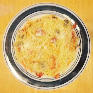 Lovely Undergrad: Quick & Easy Tomato, Mushroom, Carrot, Parmesan ...