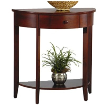 Half moon console table for entryway for the home pinterest - Half moon entry tables ...