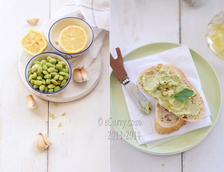 edamame amp garlic spread ecurry the recipe blog