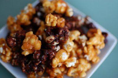 Pumpkin and Chocolate Caramel Corn | Pop! Goes the pop corn! | Pinter ...