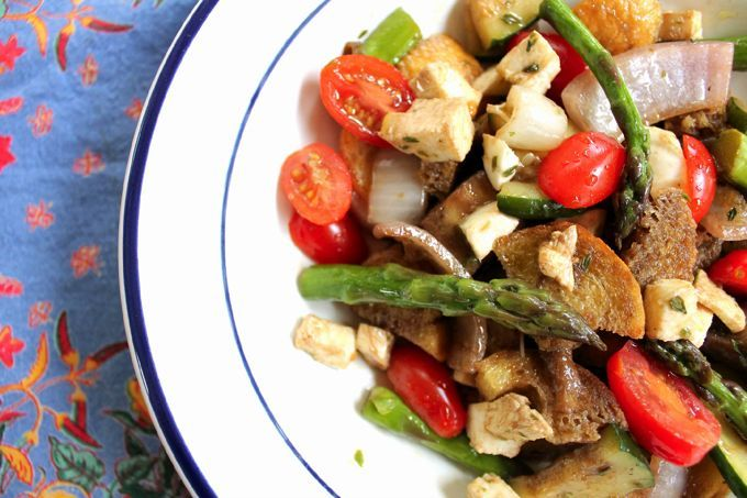 Grilled Vegetable Panzanella | Recipe