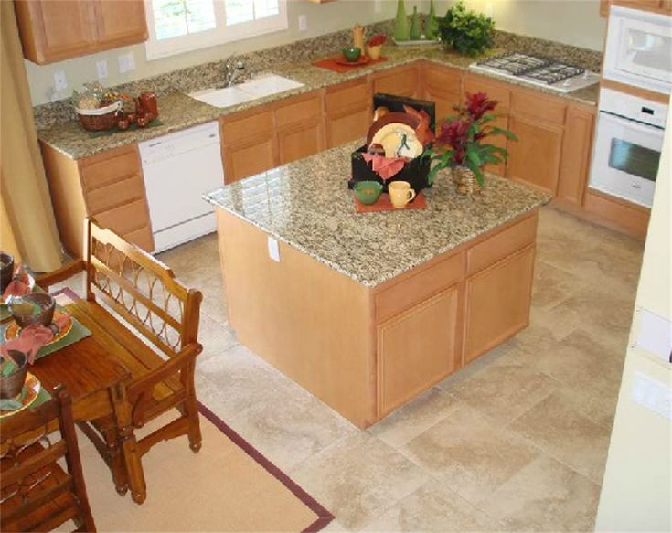 Simple Granite Countertops : Exquisite Quick n Easy Granite Countertop in Giallo Fantasia.