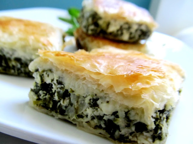 Spanakopita (Greek Spinach Pie) | Food for thought | Pinterest