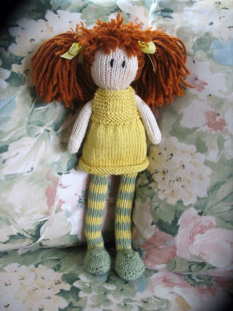 Ragdoll pattern by Debbie Bliss Knitting Ideas Pinterest
