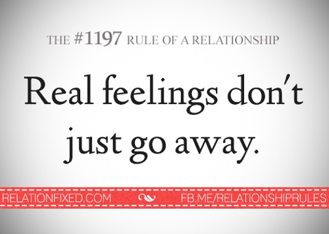 Real feelings don t just go away quot no matter how long she fakes her