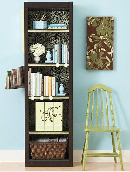 Lastest Bookcasewallpaper  Interior Design Ideas