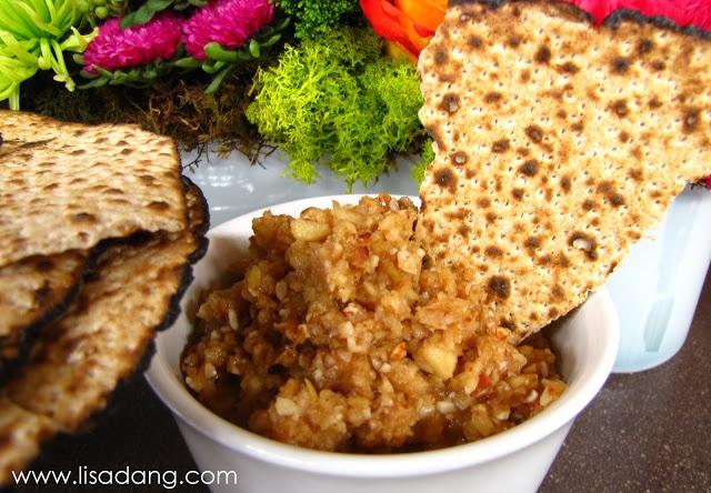 Passover Apple, Nut and Honey Haroset | Dinner/Foods | Pinterest