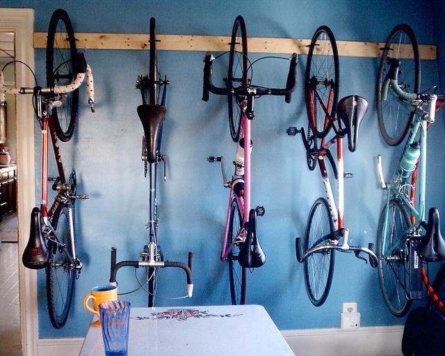 Bike Storage Idea Diy Design Pinterest