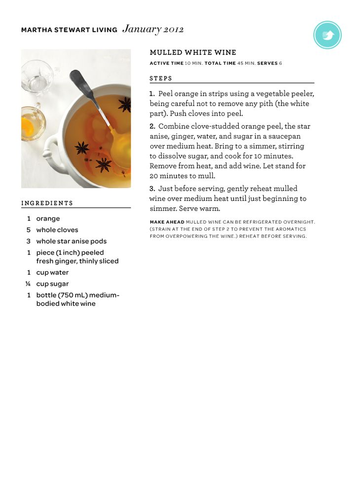 Mulled white wine recipe | How to survive winter | Pinterest