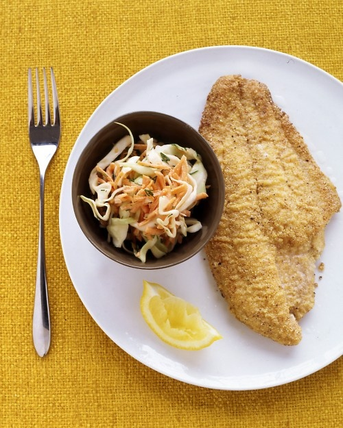 Pecan-Crusted Catfish - Martha Stewart Recipes