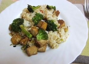 Stir Fry Sesame Tofu and Rice | Susan T's Kitchen | Pinterest