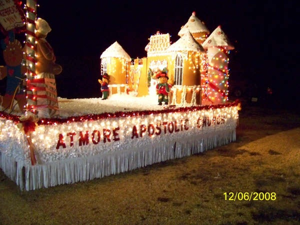 Old Fashioned Christmas Float