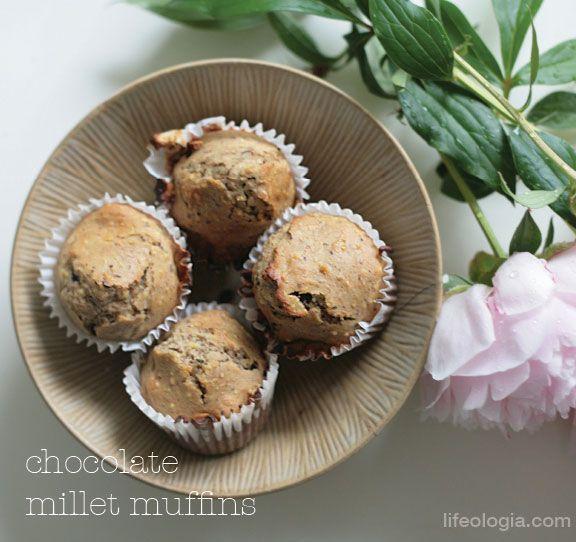 CHOCOLATE MILLET MUFFINS | Gluten Free Goodies | Pinterest