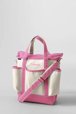 canvas diaper bag from lands 39 end baby shower pinterest. Black Bedroom Furniture Sets. Home Design Ideas