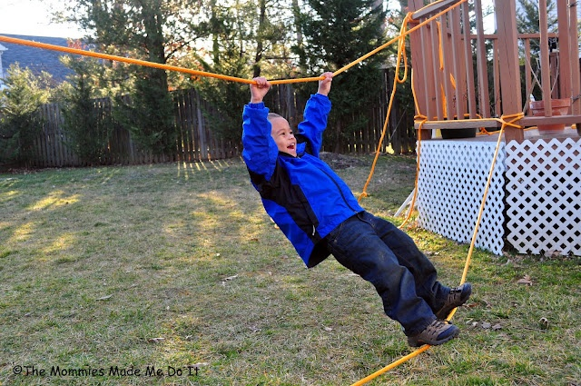how to build a rope bridge for kids