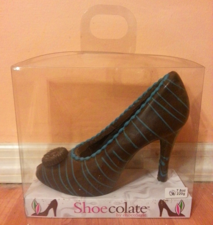 shoe made entirely of chocolate. Yum! Through the Sole: A shoe blog