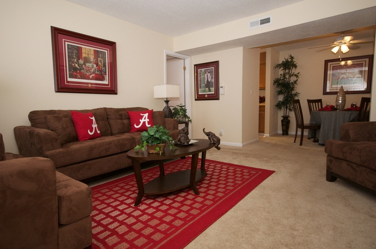 Or rent to own this great sealy furniture in this large living room