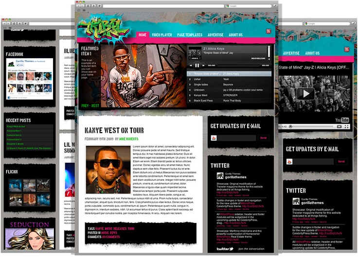 Radio WordPress Themes Pin by WordPress Templates on Entertainment WordPress Themes | Pinter…