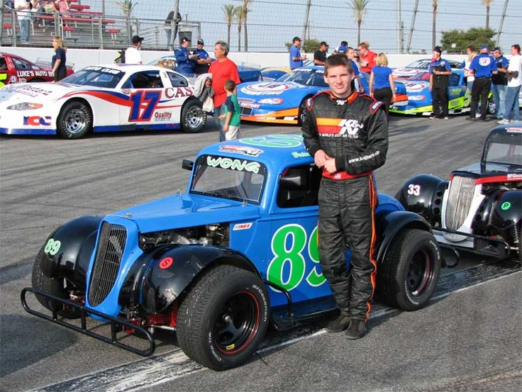 Legends car series racer faces tough competition at irwindale speedway
