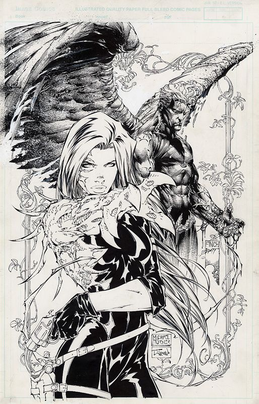 Witchblade/Ascension Wizard cover | Comic Book Art History ...
