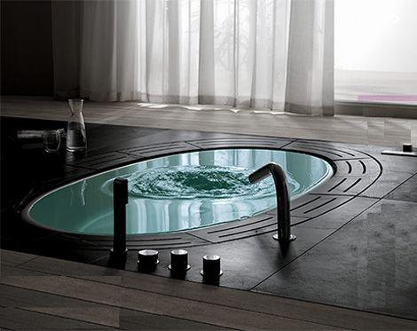 in-ground bathtub