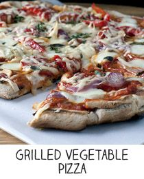Grilled Vegetable Pizza | where i want to be | Pinterest