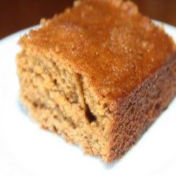 Ginger Bread Squares   Sweet Tooths   Pinterest