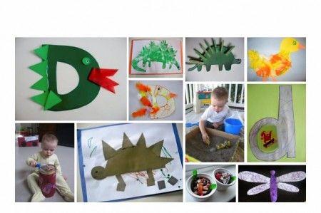 d alphabet themes  ... Letter D Theme