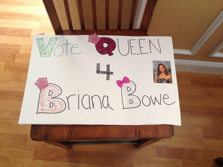 Homecoming   Campaign poster ideas   Pinterest