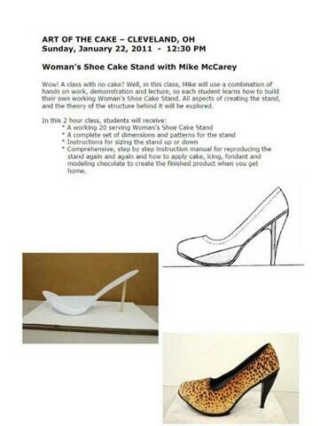How to make a shoe cake