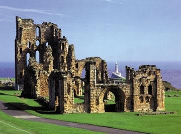 Tynemouth Priory, England.
