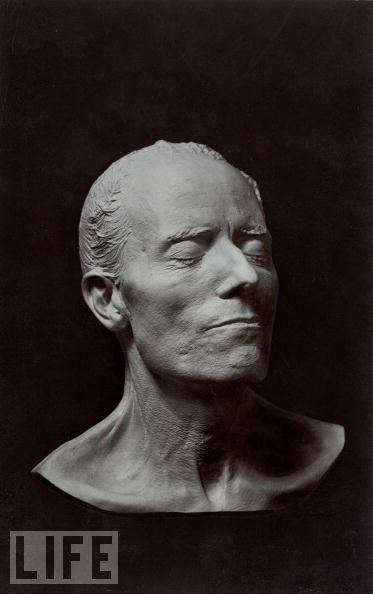 Death Mask. Gustav Mahler.