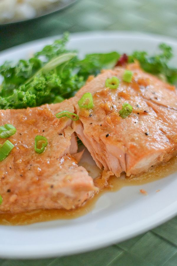 Salmon Teriyaki | Blogger Recipes | Pinterest