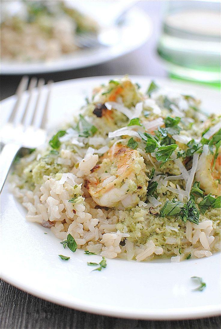 Spicy Coconut Shrimp w/ brown rice | Foodie | Pinterest