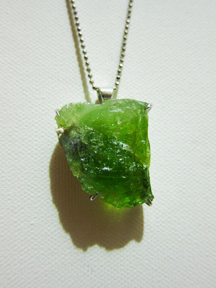 how to make raw stone jewelry