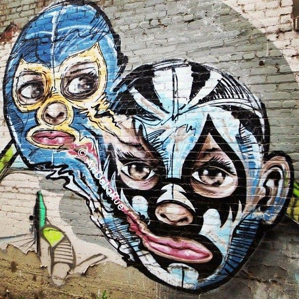 LUCHA LIBRE | street art | Pinterest