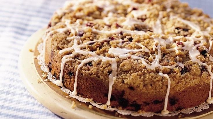 Blueberry Best Coffee Cake: Crunchy cinnamon-and-sugar streusel plus a ...