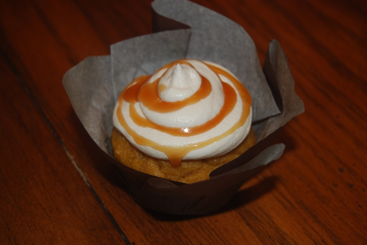 Brown Butter Pumpkin Cupcakes with Salted Caramel Frosting I made ...