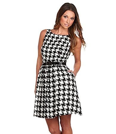 Jessica Simpson Houndstooth Dress