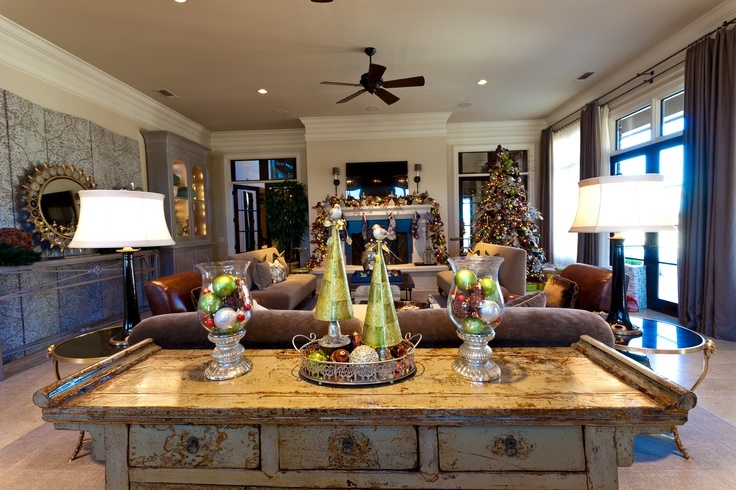 show me decorating living room christmas ideas pinterest