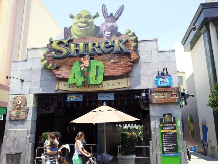 Shrek 4D at Universal Studios Florida