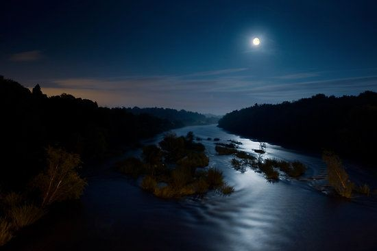 moon river.... | Beautiful Places | Pinterest