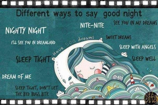 how to say goodnight in serbian