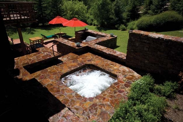 Jacuzzi In My Backyard : Hot Tub Therapy  possible home decor  Pinterest