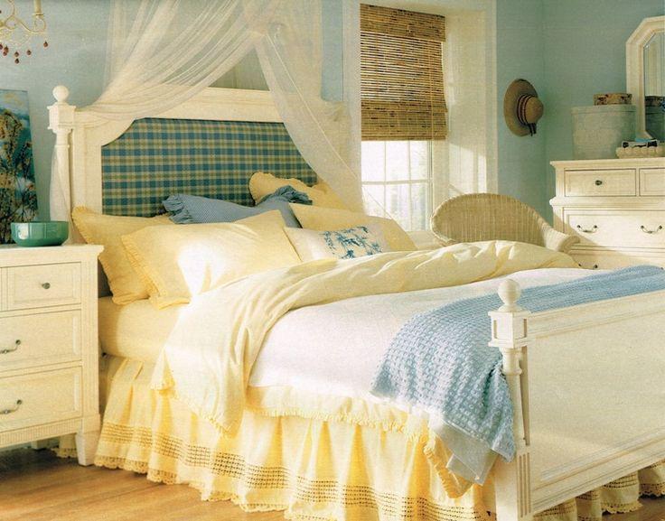 Blue amp Yellow Bedroom   bedrooms   Pinterest