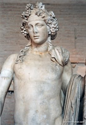 a biography of dionysus the god of the vine The biography of the greek gods and goddesses  mother goddess she makes the seeds grow for harvesting later on in the season dionysus god of the vine,.