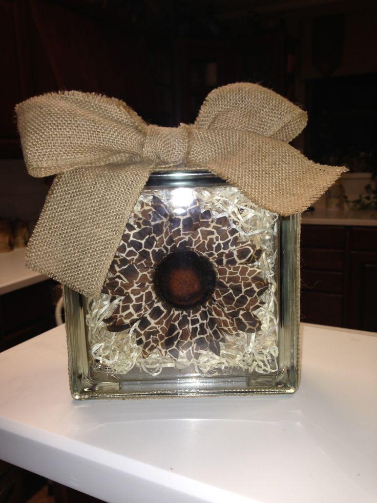 Glass Block Ideas : Glass block idea  Craft Shows  Pinterest